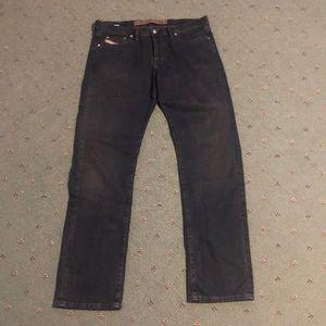 Diesel Industry Zerox Dark Wash Jeans
